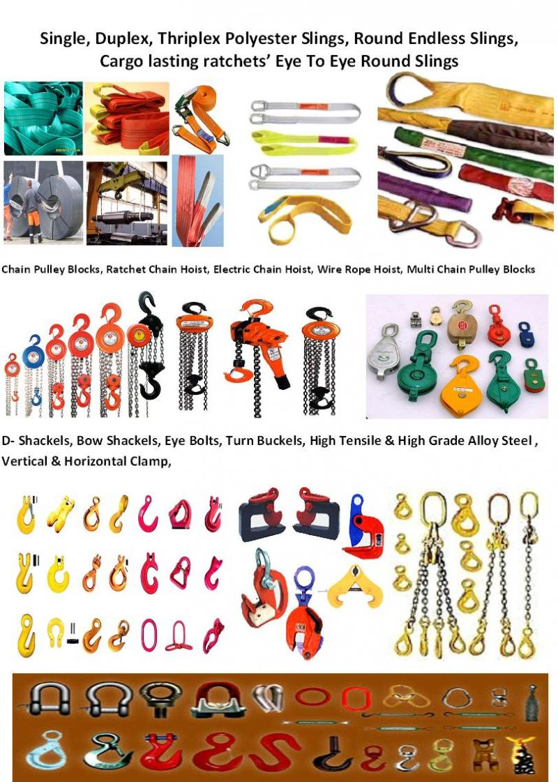 Lifting Tools & Tackels Products